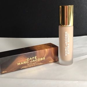 4.99SHIP🆕Cafe Marc Jacobs EXTRA SHOT 2-in-1 Caffeinated Foundation+ Conce…